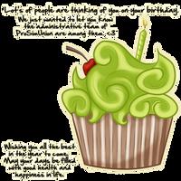 ProSimUnion Birthday Cupcake by BVicius