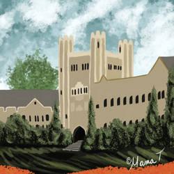 University Speed Paint