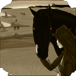 Outlaw Trail Arrival - Bonus Pic by BVicius
