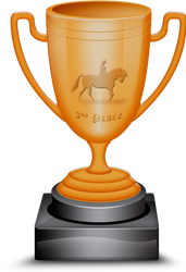 3rd Equine Place Trophy by BVicius