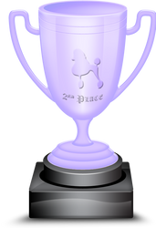 2nd Canine Place Trophy by BVicius