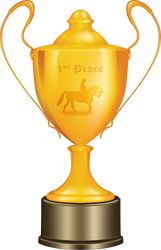 1st Equine Place Trophy by BVicius