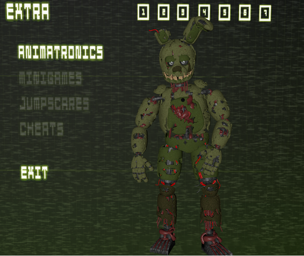 C4D Springtrap Extras By WitheredFoxyArt On DeviantArt