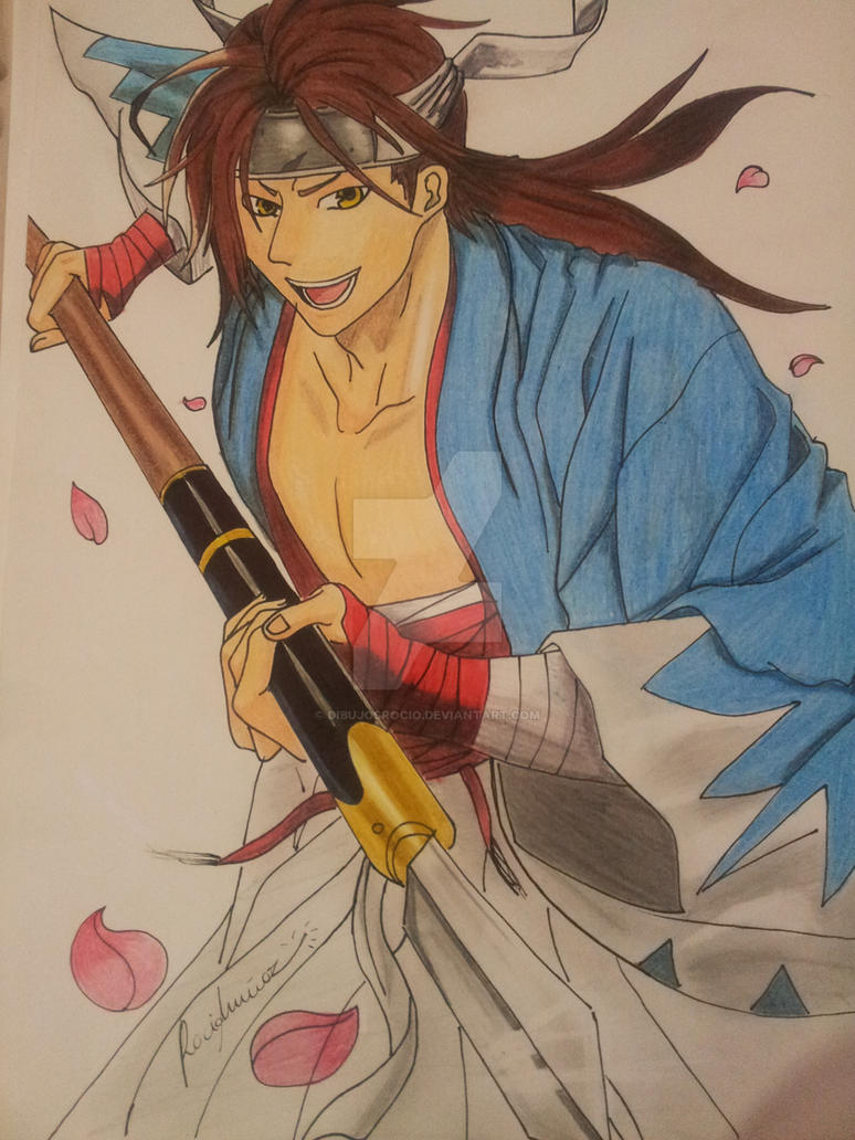 Sanosuke Harada by Dibujosrocio