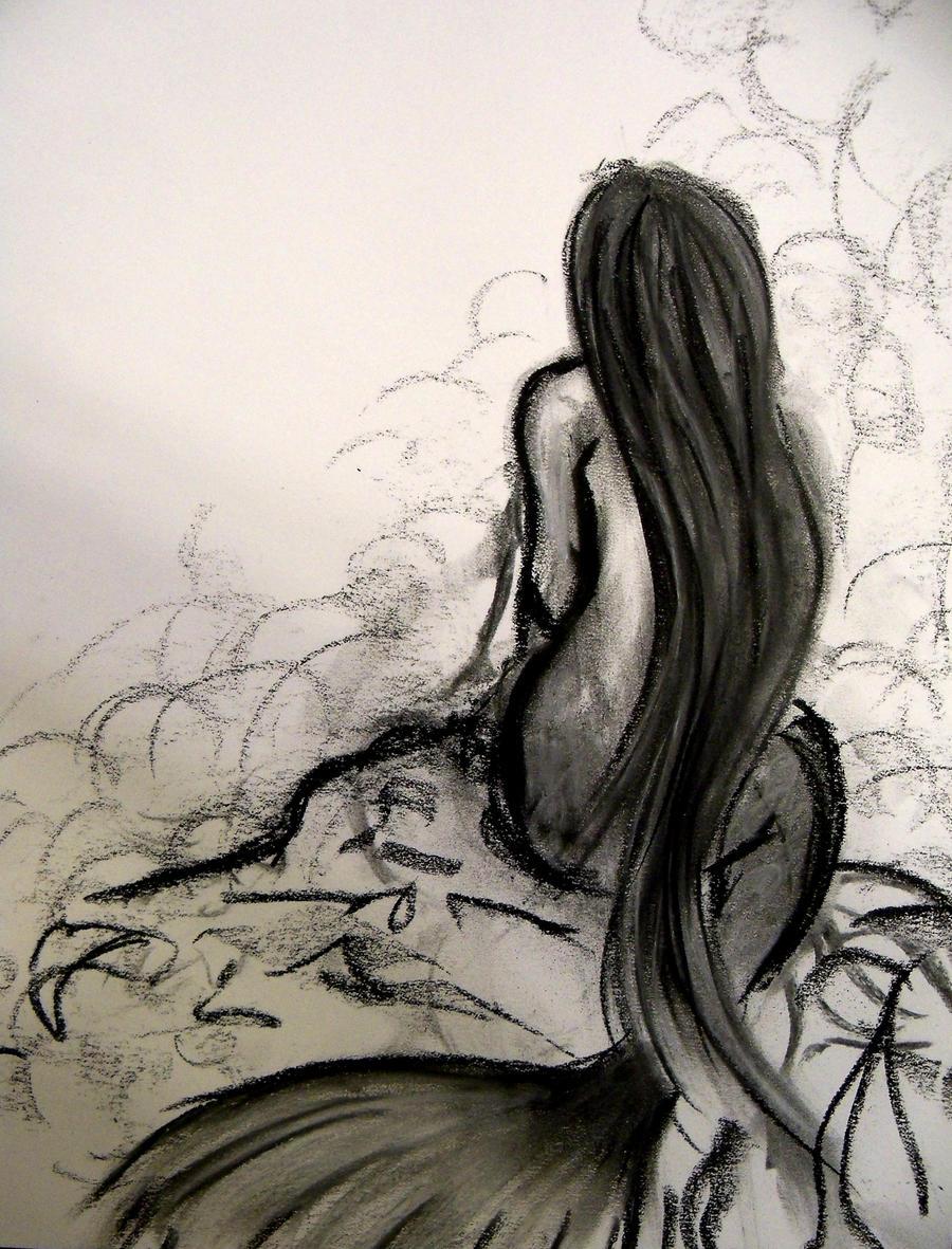 mermaid sketch by cerebellaart mermaid sketch by cerebellaart