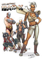 X-Men/Mad Max mashup by Mfiorito