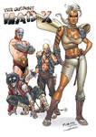 X-Men/Mad Max mashup