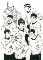 Star Trek Commission by Mfiorito