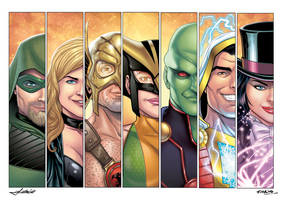 Justice League 2 by Mfiorito