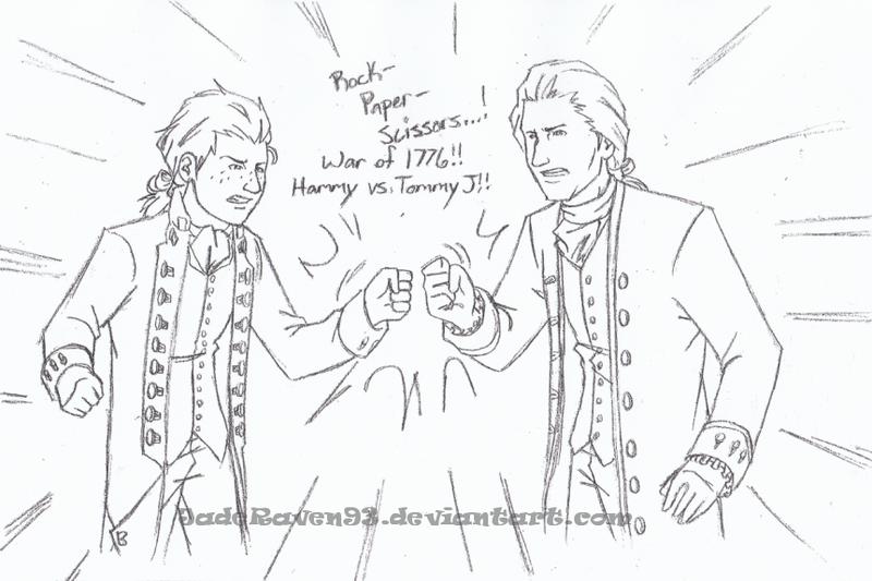 Hammy vs Tommy J by JadeRaven93