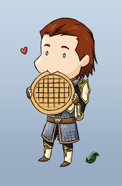 DA2 - Waffles by JadeRaven93