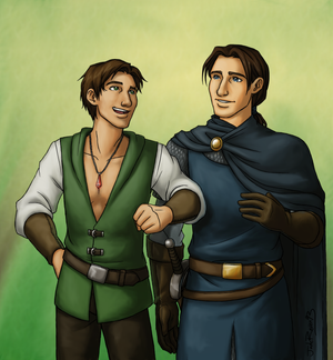 Commish - Cailan and Aldric
