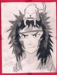 Kiba Inuzuka and Akamaru