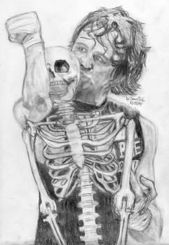 Dean Ambrose x Skeleton