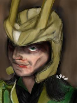 Loki Bleeding