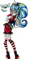 Gobstopper Ghoulia- Sweet Screams CONCEPT