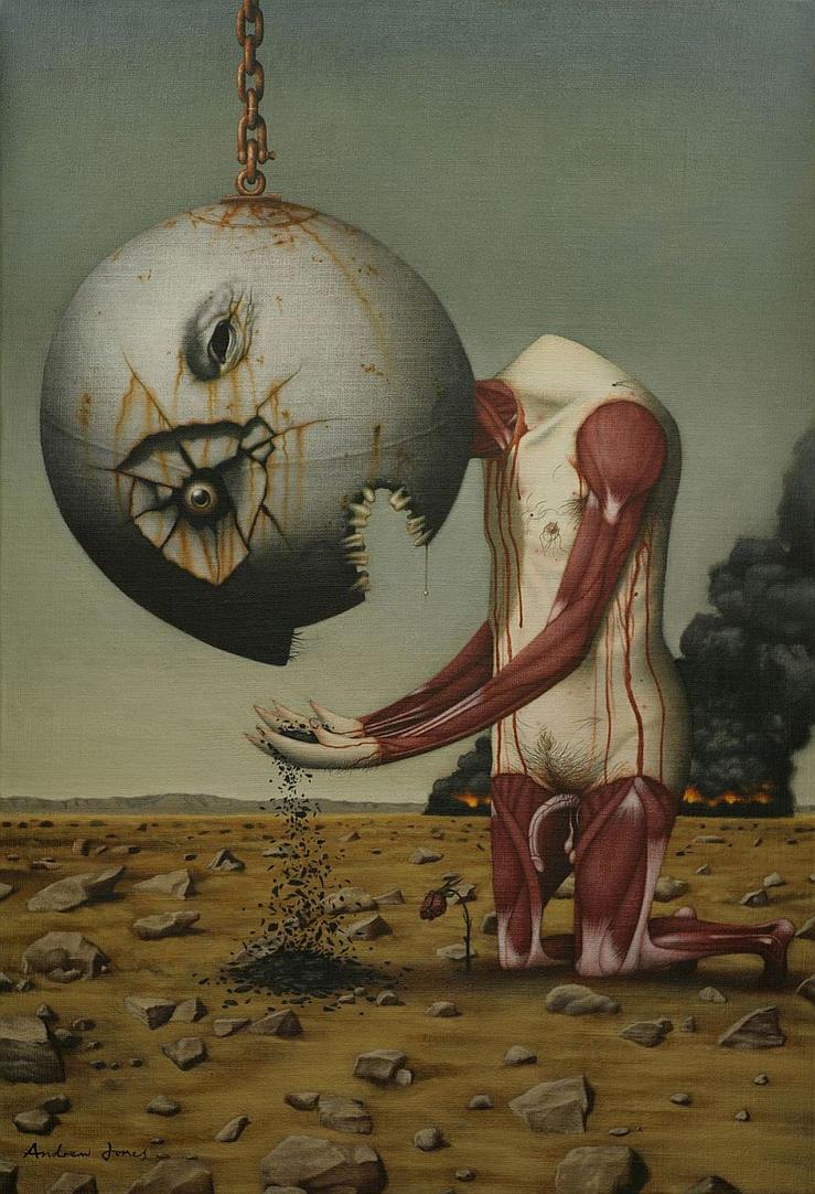 The Gift of Perception by andrewjonesart