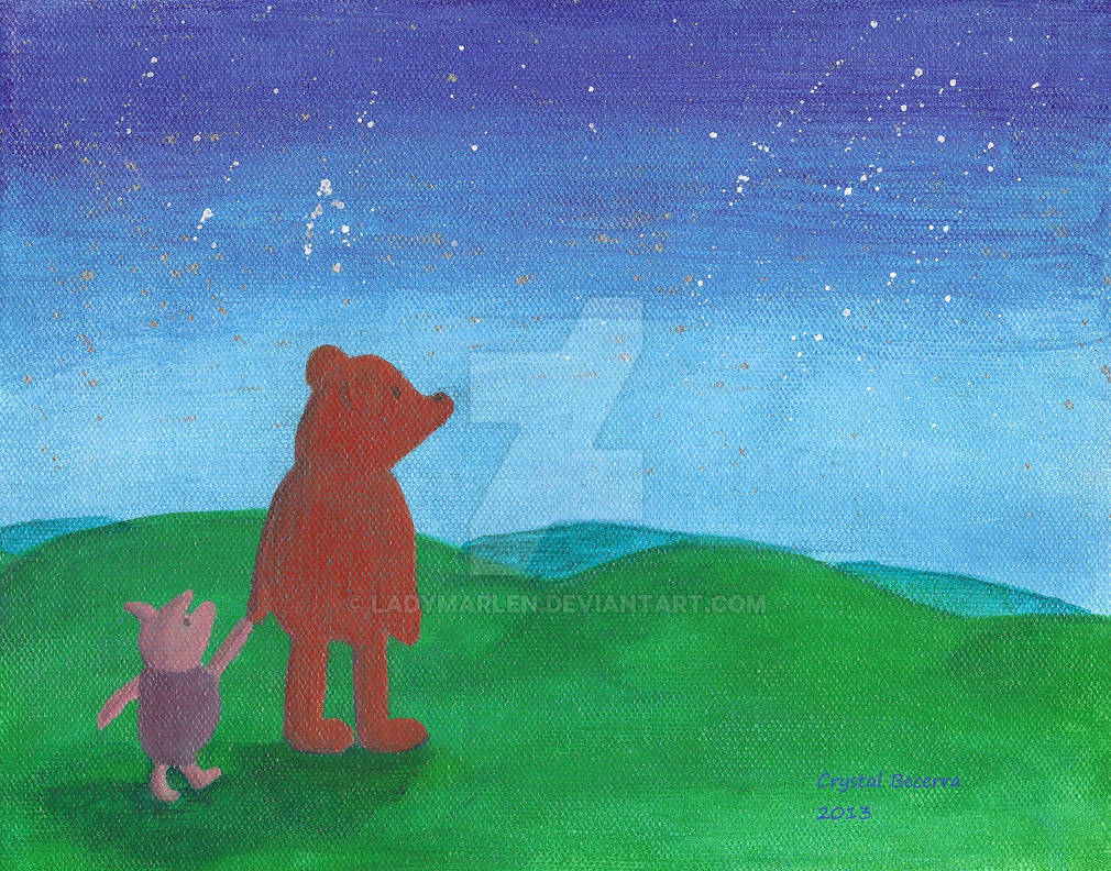 Winnie the Pooh Evening Stroll