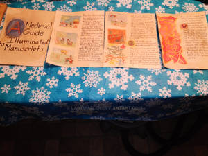 Illuminated Manuscript Project All Pages