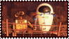 Wall-E Stamp by Gin-No
