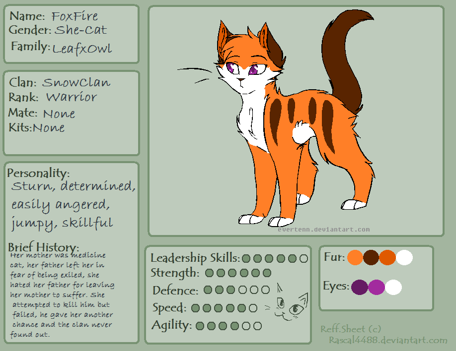 Warrior Cats Personality Traits