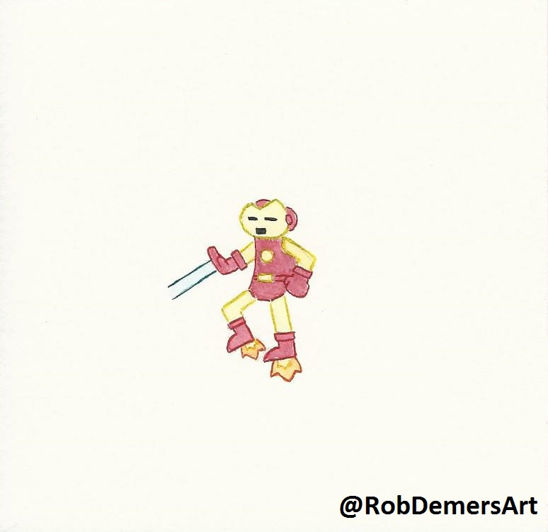 Mini iron man hd by robdemersart on deviantart - Mini iron man ...