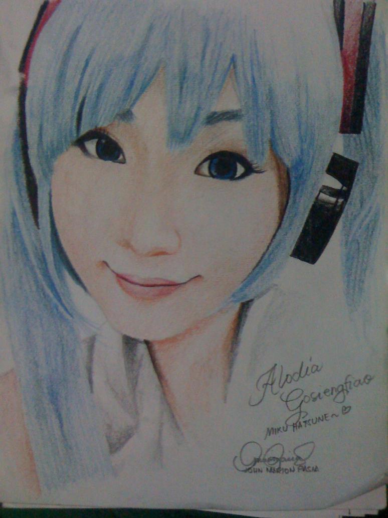 Alodia Gosiengfiao (Miku Hatsune!) by marionpasia17
