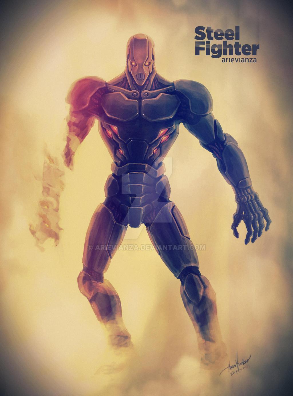Steel Fighter by arievianza