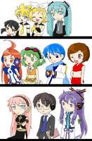 Vocaloid Cast Revise by pinkkittypower