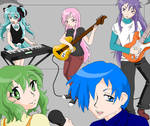 Vocaloids with Instruments