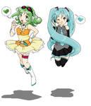 Miku Gumi Jump