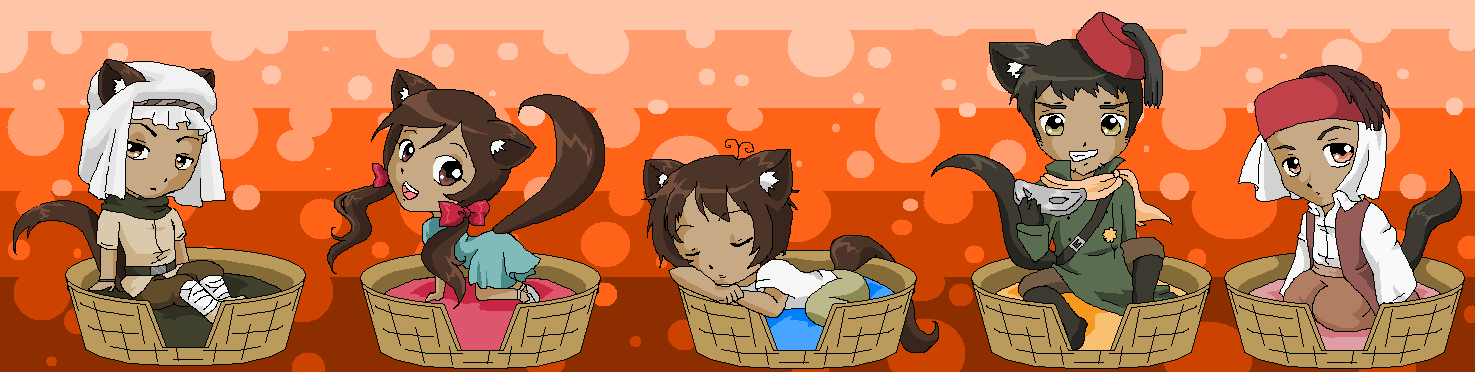 Hetalia Kitties 7 by pinkkittypower
