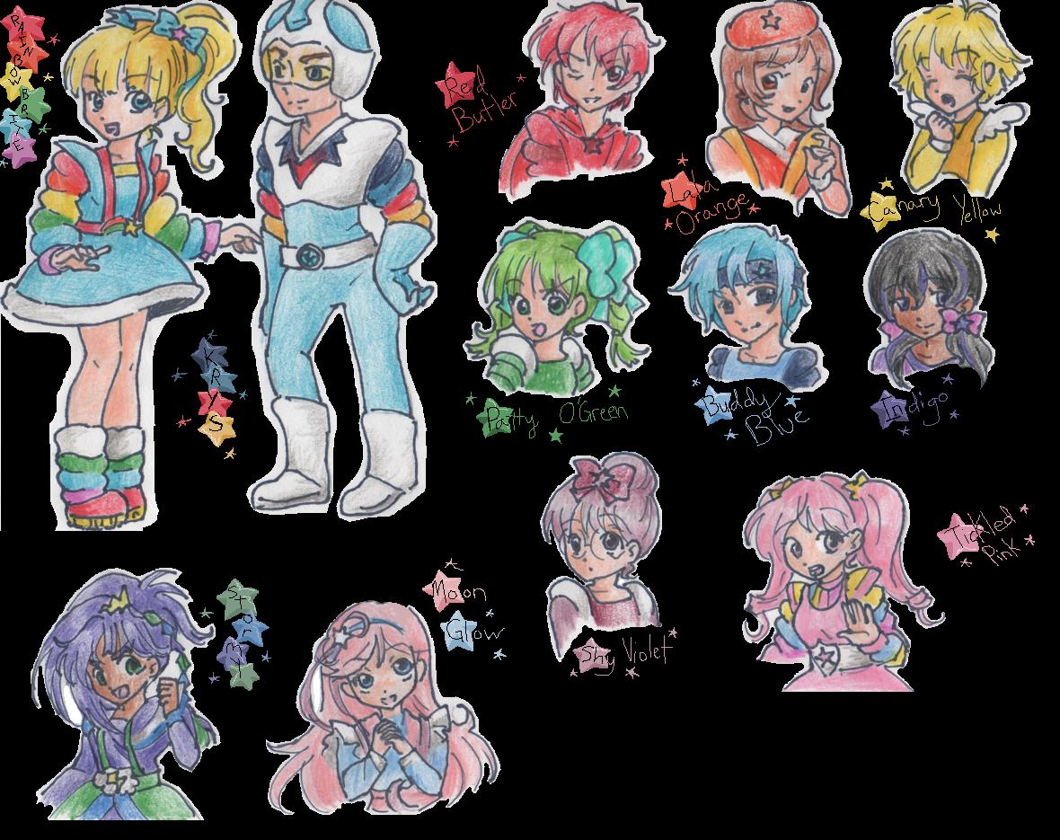 Rainbow Brite by pinkkittypower