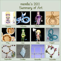 2011 Art Meme by merelei