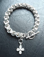 3 in 3 Chainmail Bracelet by merelei