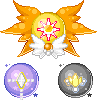 Symbol Orbs: Sol, Nova and Ratri by merelei