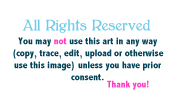 All Rights Reserved Banner Notice Thingy by merelei
