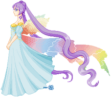 Princess Iridium by merelei