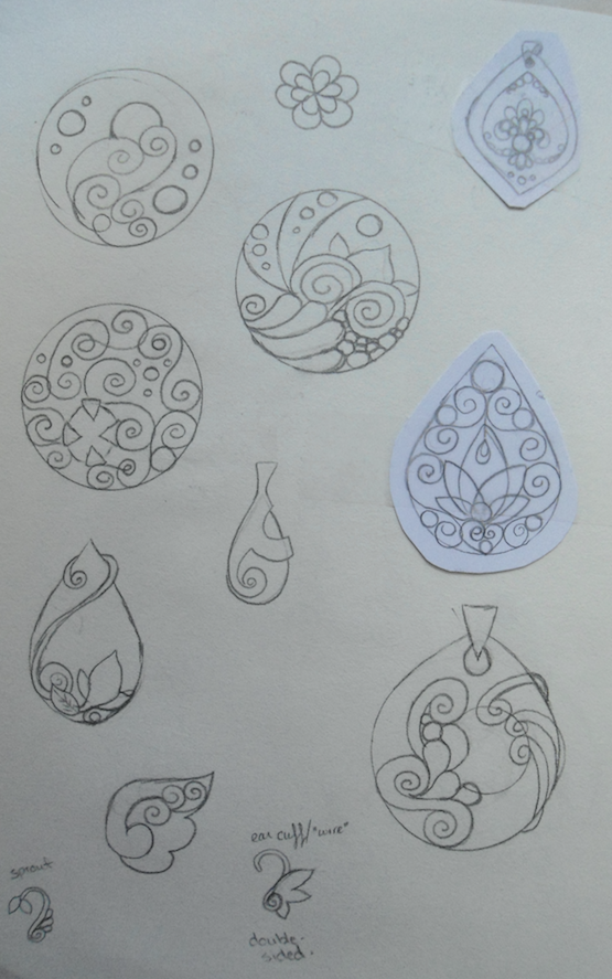 Jewelry Design and Concepts - 2 by merelei