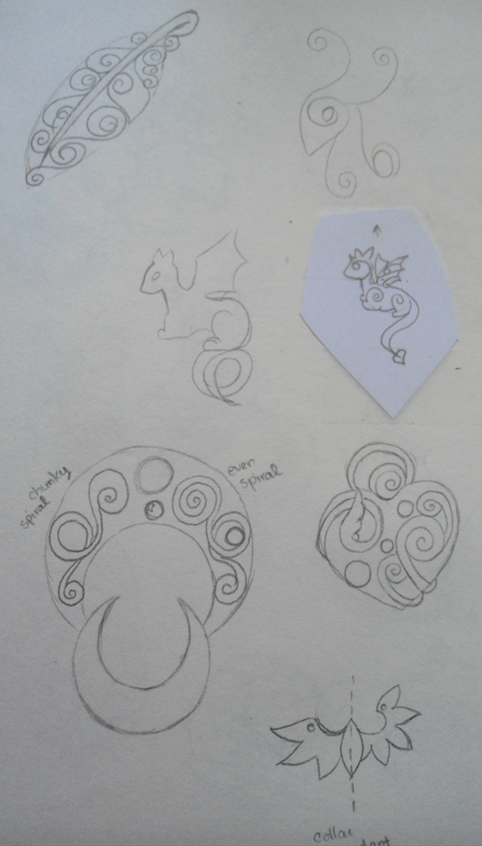 Jewelry Design and Concepts - 3 by merelei