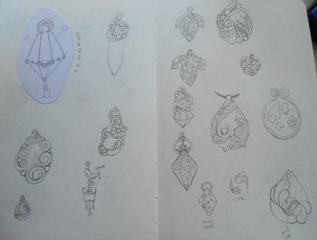 Jewelry Design and Concepts - 6 by merelei