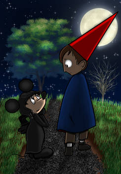 Mickey Mouse and Wirt