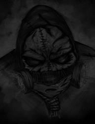 Scarecrow Batman arkham by salinisky