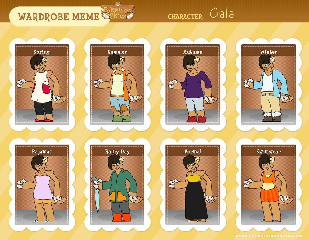 Gala Wardrobe Meme by beckf3000
