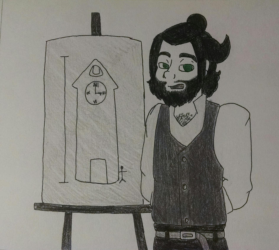 Valerie's Clocktower Idea by BeckImaginative