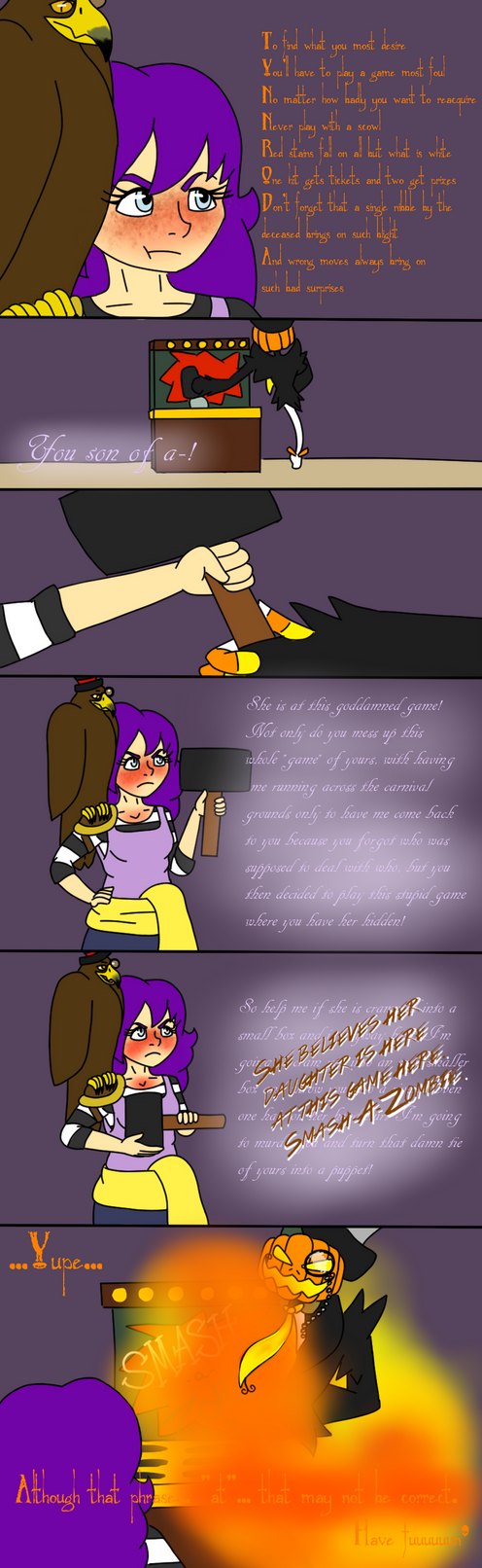 Solving the Riddle by BeckImaginative