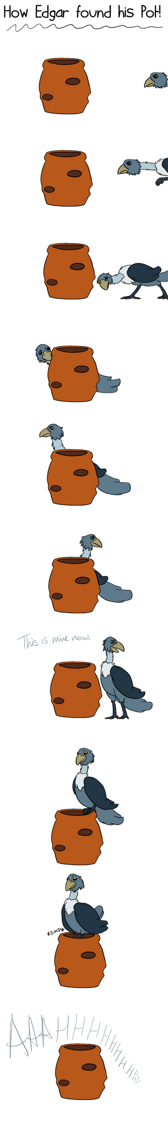 How Edgar found his Pot by BeckImaginative