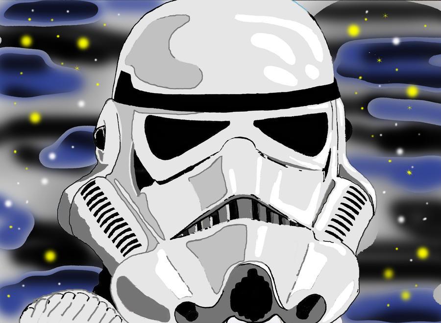 star wars stormtrooper by Solider12