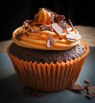 Halloween Cupcake by JoannaMoory