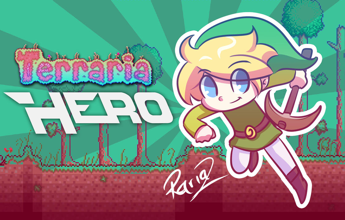 Hero - Terraria by Rariaz